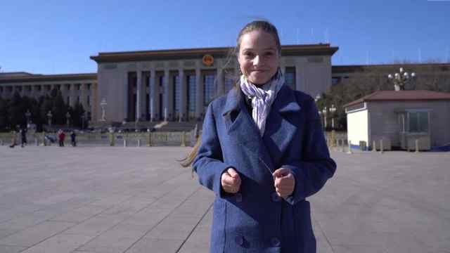 乌克兰美女记者看两会