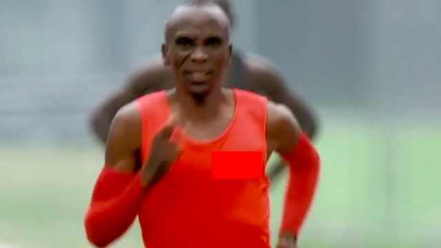 极品跑者吉普乔格跑步姿势欣赏
