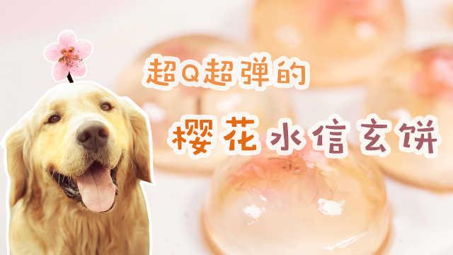 超Q超弹的樱花水信玄饼,舍不得吃