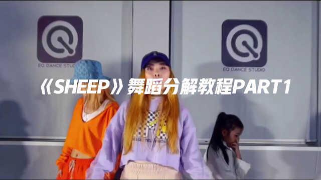 《Sheep》舞蹈镜面分解教程part1