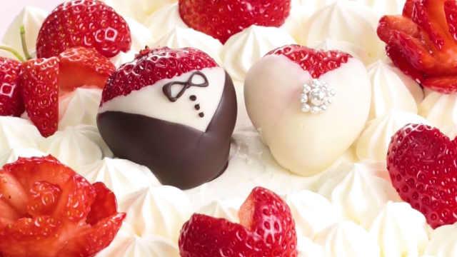 最有爱的婚礼蛋糕创意,看出了甜蜜