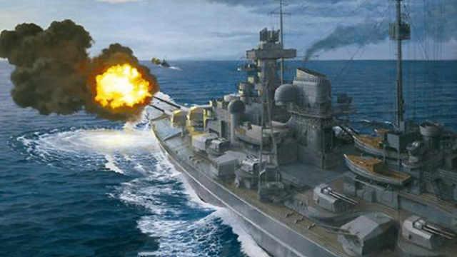 丘吉尔发誓要击沉俾斯麦号