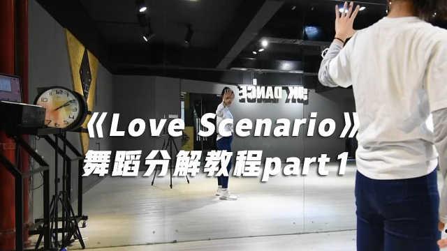 《Love Scenario》舞蹈分解教程P1