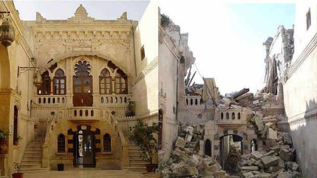 可怕!叙利亚战争前后对比触目惊心