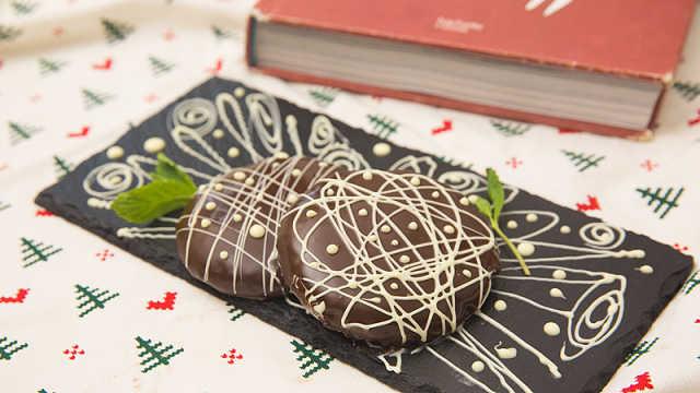 高颜值的薄荷巧克力饼干,简单易学