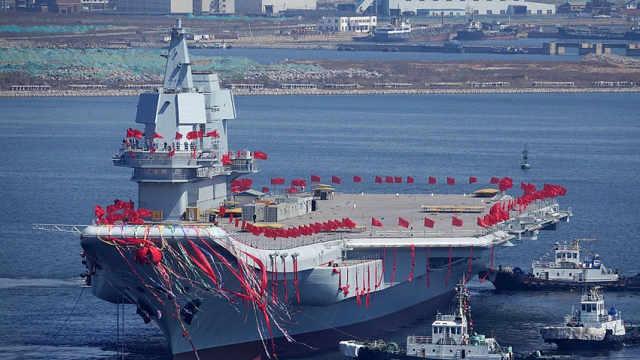 中国的百年航母梦终于圆梦