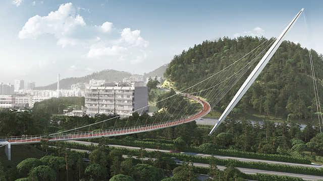 厦门拟建全国最长最美空中步道