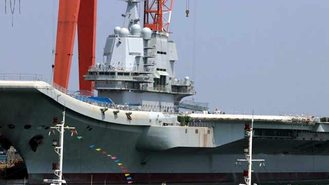 中华民族百年航母梦实现了