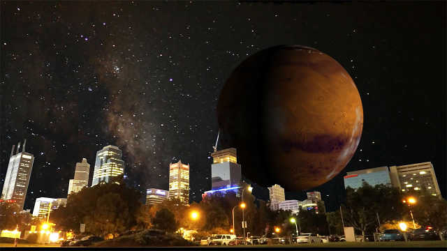 如果太阳系星球围绕着地球转会怎样