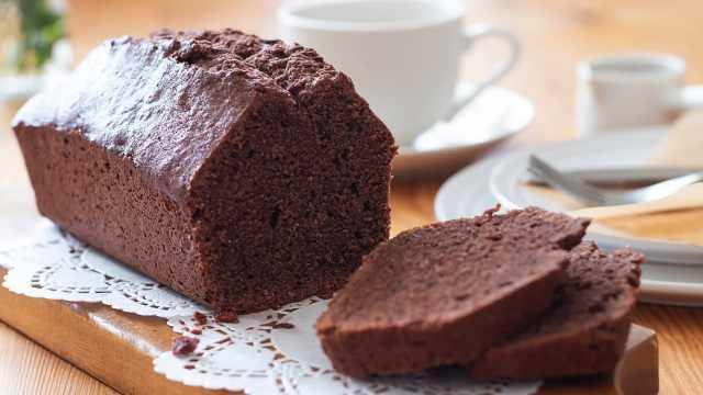 自制早餐巧克力蛋糕