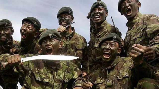 廓尔喀雇佣兵二百年战史
