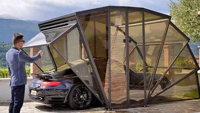 拥有车库不是梦,既是车库又是凉亭