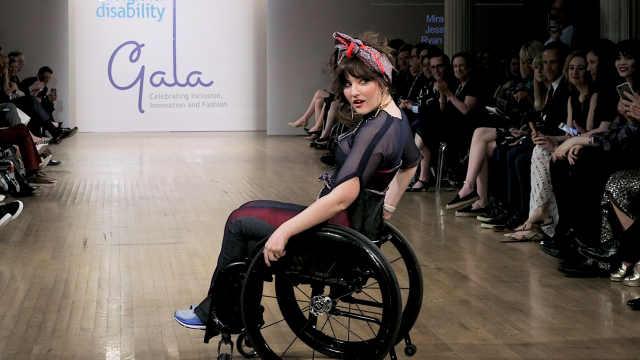 谁说残障人士就不能闪耀T台?