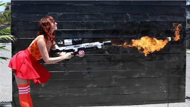 马斯克的火焰喷射枪了解一下
