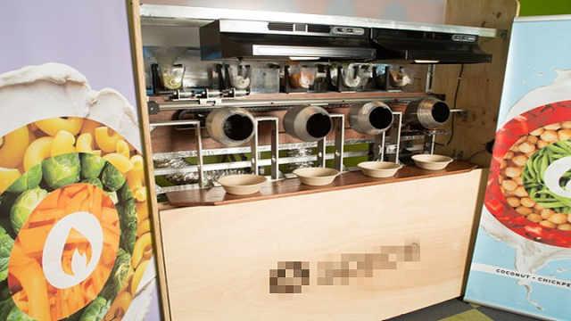 机器人大厨5分钟出菜、米其林品质