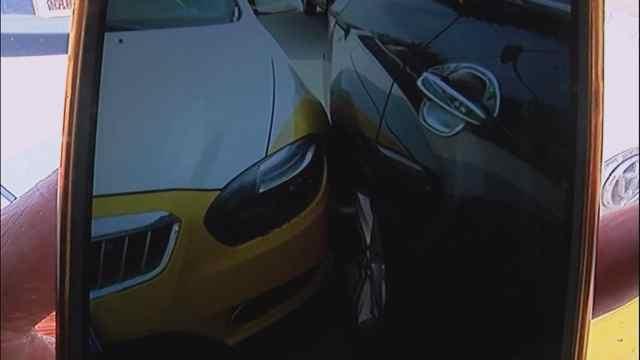 """车辆剐蹭,""""30年老司机"""":是碰瓷"""