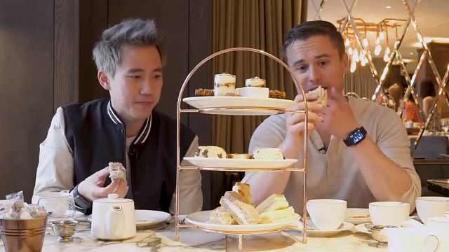 正宗英式下午茶,吃法竟这么讲究