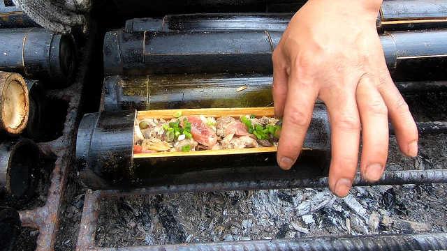 广东人最爱的腊味竹筒饭
