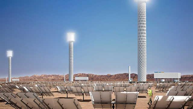 世界上最大的太阳能发电站