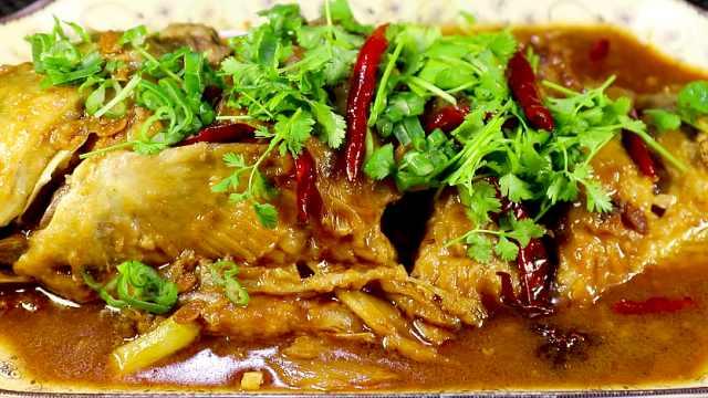家常版红烧鲤鱼,简单易学超美味