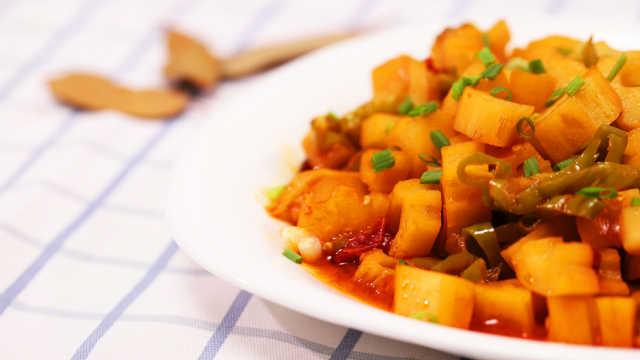 天热没食欲?试试这碗清爽小菜!