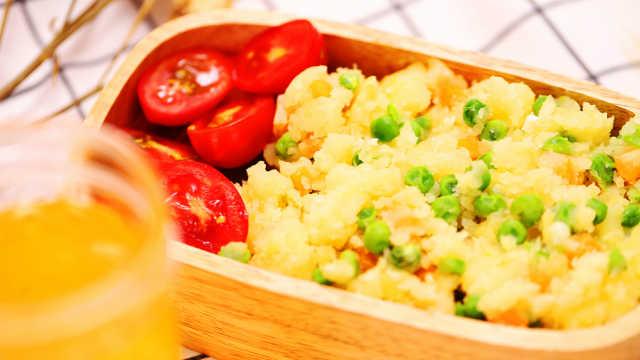 土豆泥新吃法!明儿早餐就它了