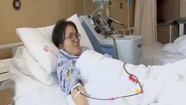 护士为男孩捐造血干细胞:要救他!