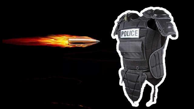 防弹衣是怎么帮人挡住子弹的?