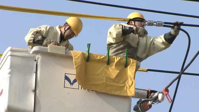 日供电量创新高,2477人抢修队护航