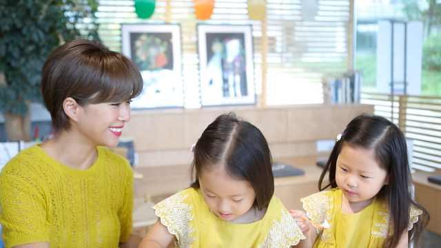 辣妈服装设计师为三岁女儿备嫁妆