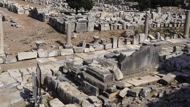 以弗所古城,感受古代残垣断壁之美
