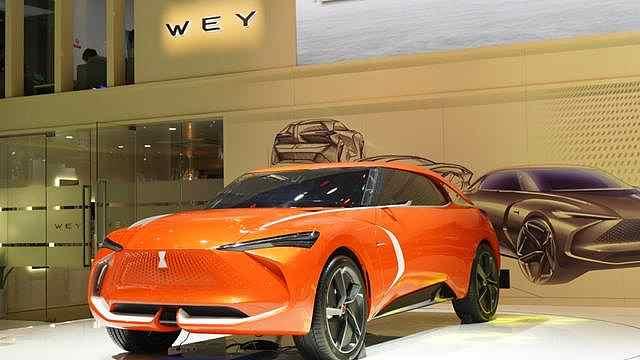 智能技术VV6 WEY-X成都车展亮相