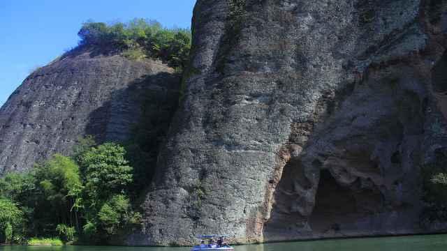 古庙、象形山,这里就是浏阳河源头