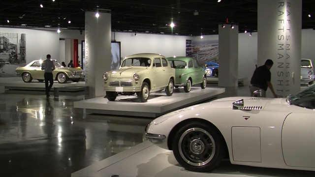 日本经典汽车展览,超复古
