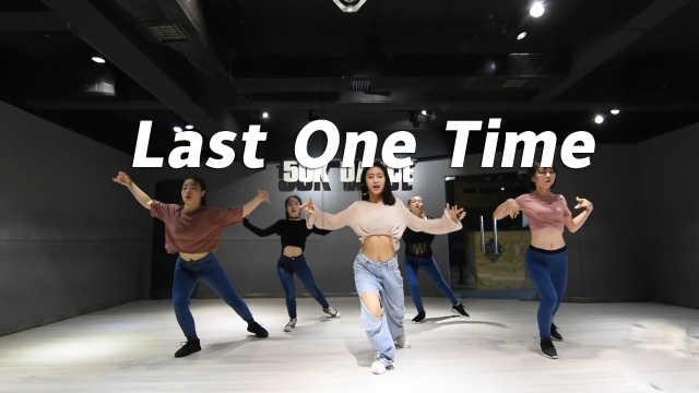 霸气音音编舞《one last time》