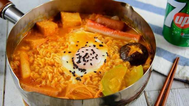 韩式部队锅的美味,你必须了解一下