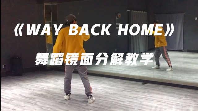 《Way Back Home》镜面分解教学