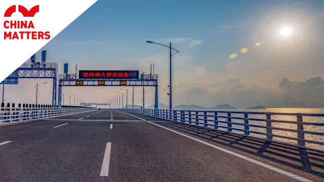 """探索港珠澳大桥不为人知的""""秘密"""""""