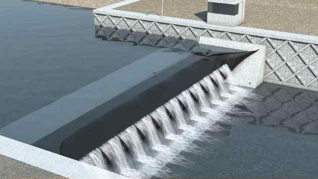 橡胶做水坝,抗洪力比水泥坝还好!