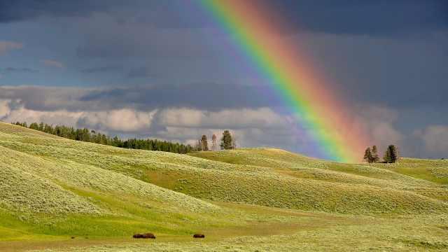 自然科普小百科之彩虹