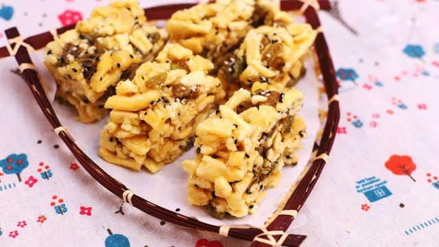 自制沙琪瑪,香甜美味口感極好!