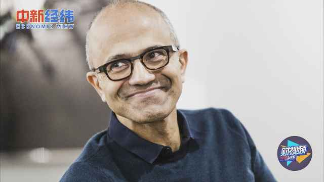 """纳德拉是如何重塑""""中年微软""""的?"""