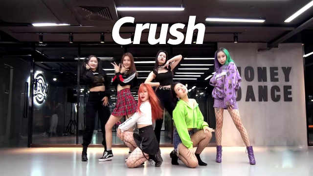 小姐姐翻跳WEKI MEKI《Crush》