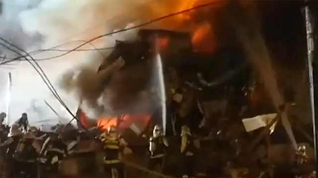 日本北海道札幌一家居酒屋发生爆炸
