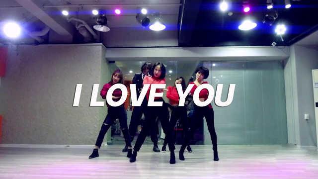 女王YUNA翻跳《I LOVE YOU》