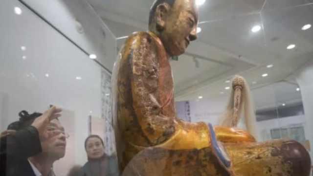 荷兰藏家称愿还佛像,村民:尽快兑现
