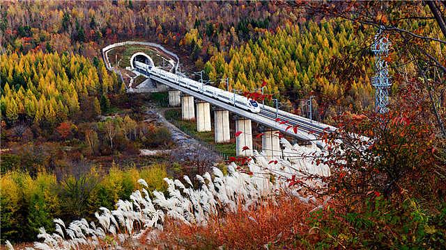 改革开放40年,铁路事业跨越式发展