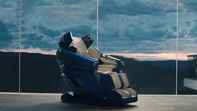 这款高端按摩椅,你喜欢吗?