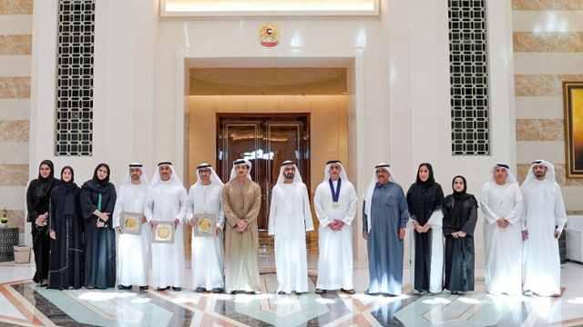 迪拜评性别平衡奖:获奖者皆男性