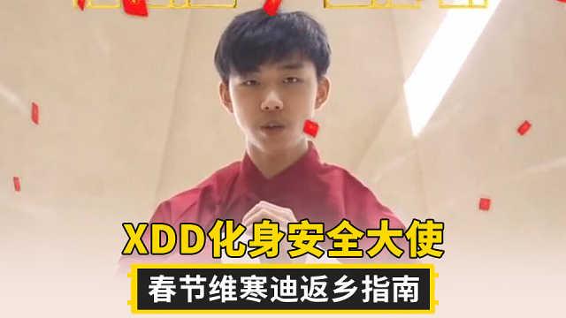 职业选手XDD春节维寒迪返乡指南